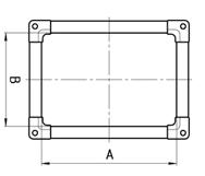 Фланцы прямоугольные из шины