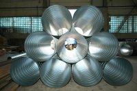 Различия круглых спирально-навивных и прямошовных воздуховодов