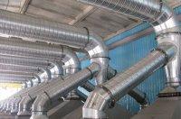 Применение круглых воздуховодов: спирально-навивных и прямошовных