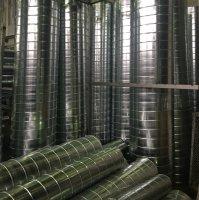 Спирально-навивные воздуховоды круглого сечения из оцинковки