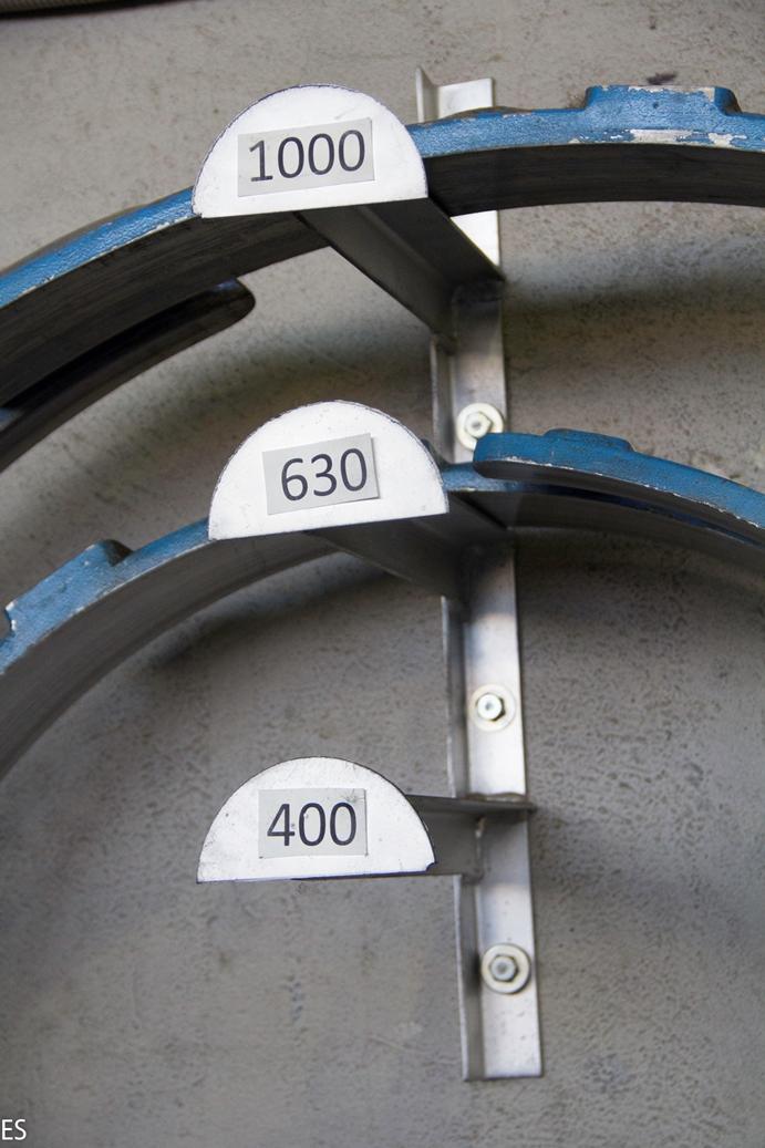 Формовочные кольца для круглых воздуховодов