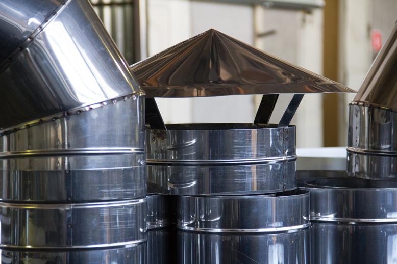 Области применения воздуховодов из нержавеющей стали