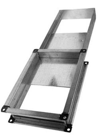 Шибер вентиляционный прямоугольный