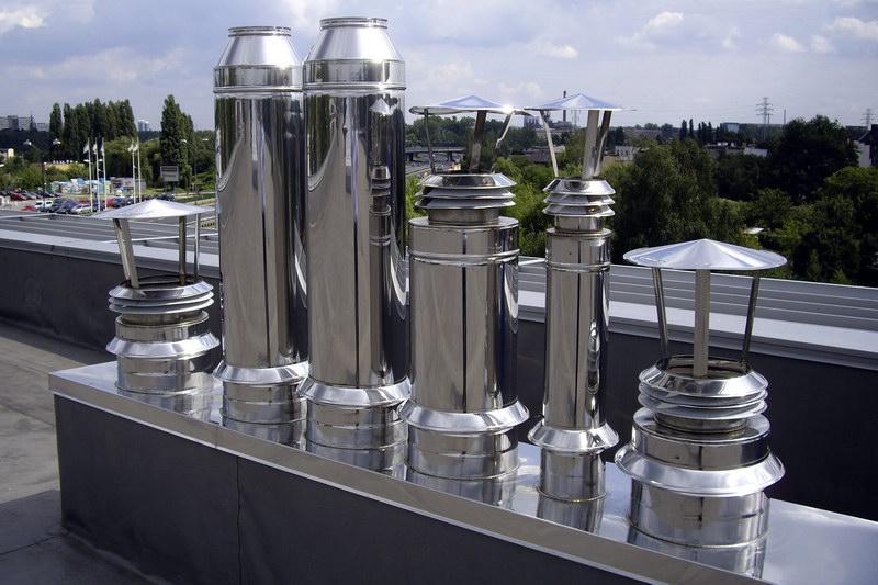 Дымовые и промышленные вентиляционные трубы