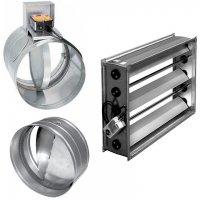Дроссель клапан в системе вентиляции: назначение, установка