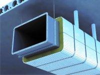 Огнезащитный воздуховод: покрытие, огнезащита
