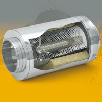 Вентиляционные шумоглушители трубчатые: где применяются