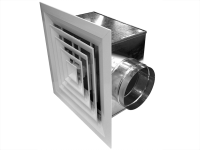 Диффузоры для вентиляции: особенности